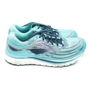 Brooks Womens Glycerin 15 Running Shoes Aqua Blue
